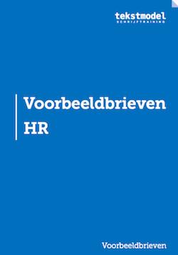 Voorbeeldbrieven HR
