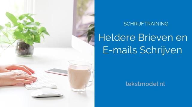 Schrijfcursus: Heldere Brieven en E-mails Schrijven