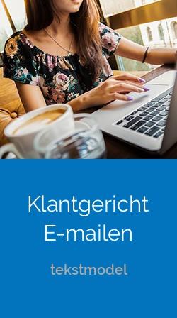 Klantgericht E-mailen